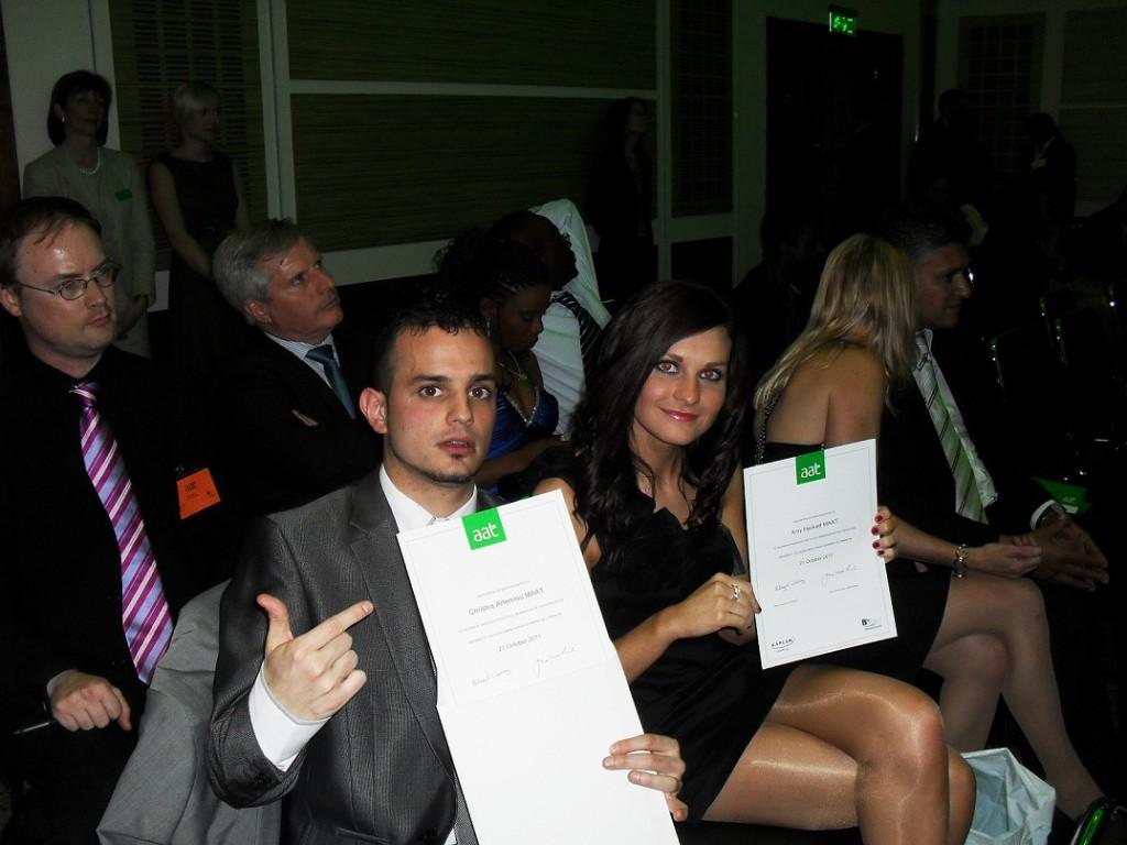 Christos Amy, Ric 2011 AAT Ceremony
